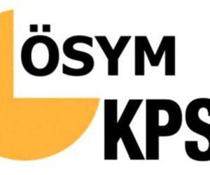 KPSS lisans sonuçları açıklandı!