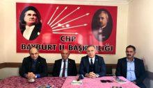 CHP Millet Vekili Gökan Zeybek Bayburt'ta