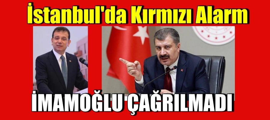 İstanbul'da Kırmızı Alarm