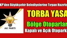 AKP'den Büyükşehir Belediyelerine Tırpan Hazırlığı. Torbadan kısıtlama çıktı