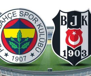 Fenerbahçe – Beşiktaş derbisi Maç Sonu 3-4