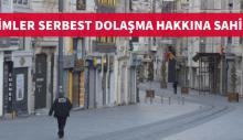 KİMLER SERBEST DOLAŞMA HAKKINA SAHİP