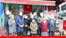 Ekrem  İmamoğlu Emirgan'da Ziyarette Bulundu