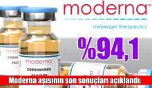 Moderna Aşısının Sonuçları Açıklandı: Yüzde 94,1