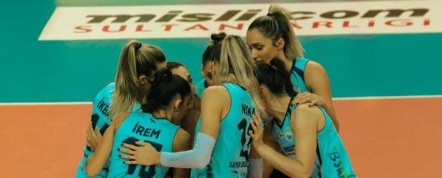Galatasaray HDI Sigorta 1-3 Sarıyer Belediyespor