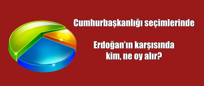 Cumhurbaşkanlığı seçimlerinde Erdoğan'ın karşısında kim, ne oy alır?