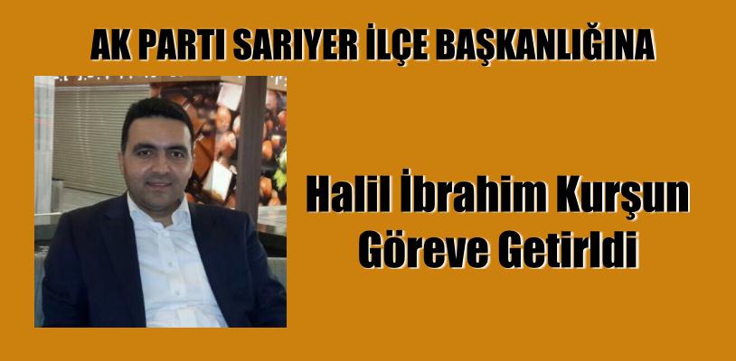 AK Parti Sarıyer İlçe Başkanı belli oldu