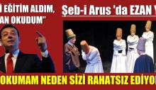İmamoğlu: Şeb-i Arus töreninde Türkçe ezan okunmadı