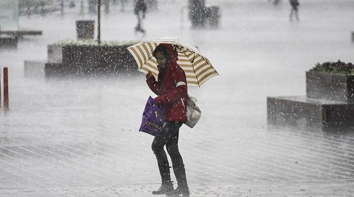 Meteorolojiden sağanak yağış uyarısı geldi