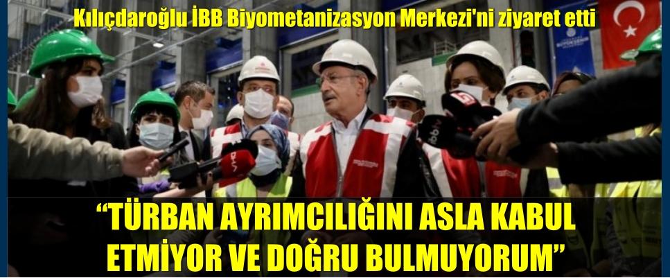 """""""TÜRBAN AYRIMCILIĞINI ASLA KABUL ETMİYOR VE DOĞRU BULMUYORUM"""""""