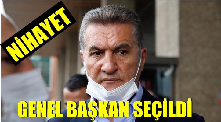 Mustafa Sarıgül, genel başkan seçildi