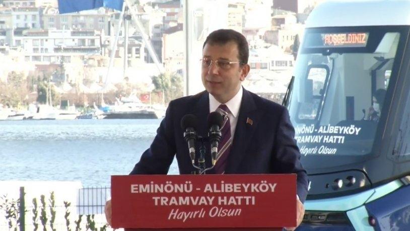 Eminönü-Alibeyköy Cep Otogarı Tramvayı Açılışı Gerçekleşti