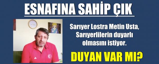 SARIYER ESNAFINA SAHİP ÇIK