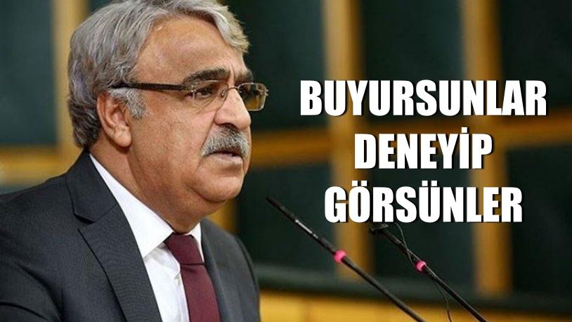 """HDP'den  MHP'ye """"Kapatma"""" Yanıtı Buyursunlar Deneyip Görsünler"""