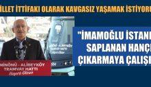 İmamoğlu İstanbul'a yapılan ihanet hançerini çıkarmak istiyor