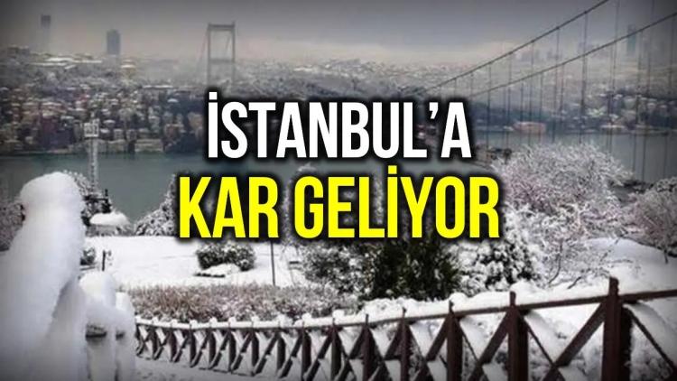 İstanbul'a kar ne zaman yağacak? Meteoroloji ve AKOM tarih verdi