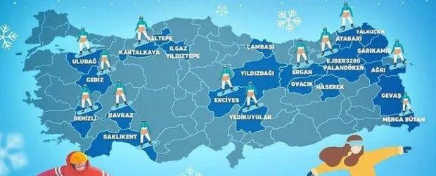 Kayak merkezleri açıldı: