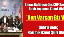 Canan Kaftancıoğlu. CHP Sarıyer Canlı Yayınına  Konuk Oldu