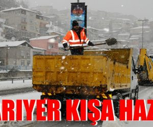 SARIYER KIŞA HAZIR