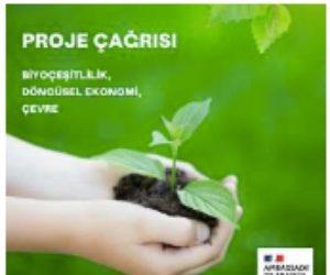 Fransa Büyükelçiliği'nden çevre konulu proje çağrısı