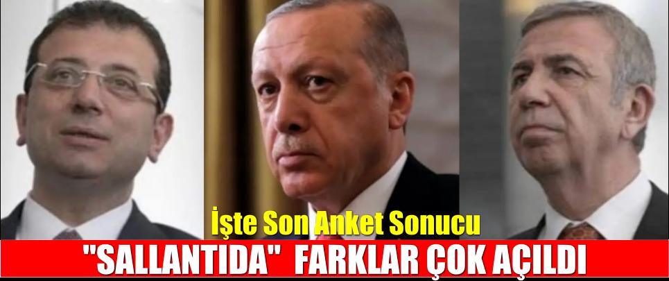 Erdoğan'ın Koltuğu Sallantıda! Mansur Yavaş İle Arasındaki Fark Açıldı