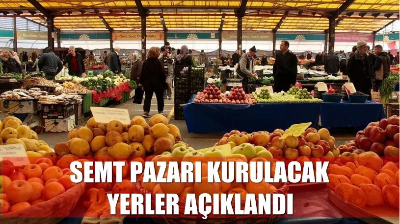 İstanbul'da yarın semt pazarı kurulacak yerler açıklandı
