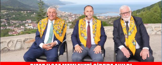 RIFAT ILGAZ MEMLEKETİ CİDE'DE ANILDI