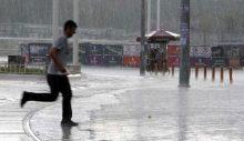 Meteoroloji'den sağanak ve sıcak uyarısı