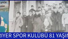 SARIYER SPOR KULÜBÜ 81 YAŞINDA