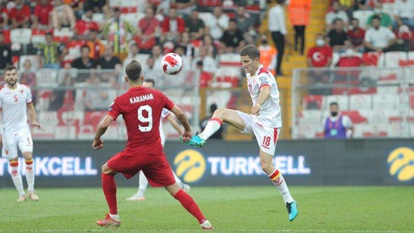 Türkiye son dakikada galibiyeti kaçırdı