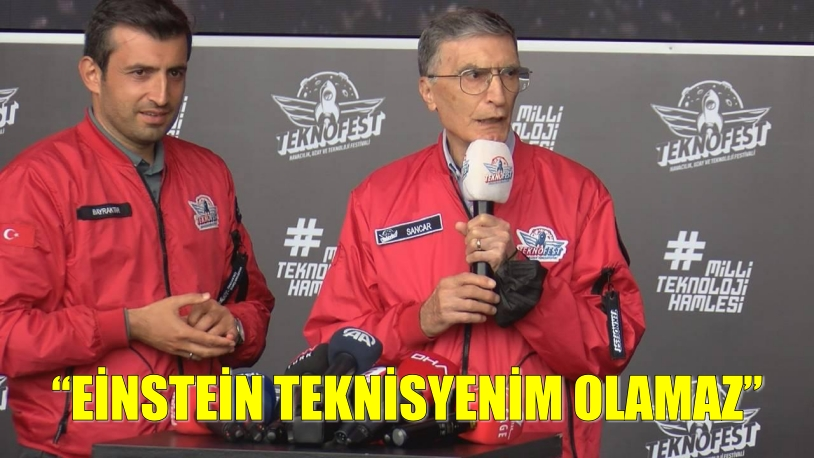"""Prof.Dr.Aziz Sancar """"EİNSTEİN TEKNİSYENİM OLAMAZ"""""""