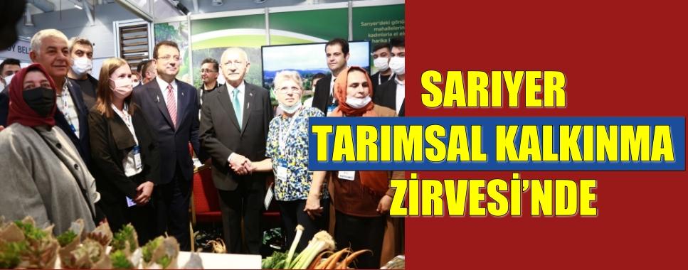SARIYER TARIMSAL KALKINMA ZİRVESİ'NDE