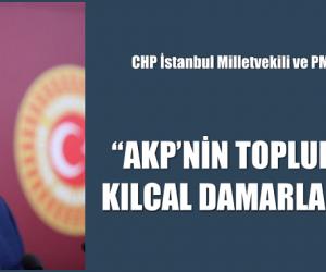 """""""AKP'NİN TOPLUMLA İLİŞKİ KURDUĞU KILCAL DAMARLARI KURUDU."""""""