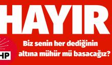 CHP, Suriye – Irak tezkeresine 'HAYIR' oyu verecek!