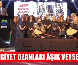 CUMHURİYET OZANLARI ÂŞIK VEYSEL'İ ANDI: DOSTLAR BENİ HATIRLASIN
