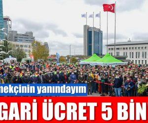 SARIYER BELEDİYESİ'NDE ASGARİ ÜCRET 5 BİN!