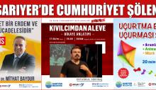 SARIYER'DE CUMHURİYET ŞÖLENİ