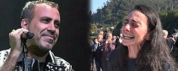 Haluk Levent'ten ressam Gökçe Erhan'a destek